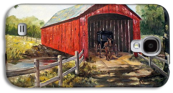 Amish Country Galaxy S4 Case