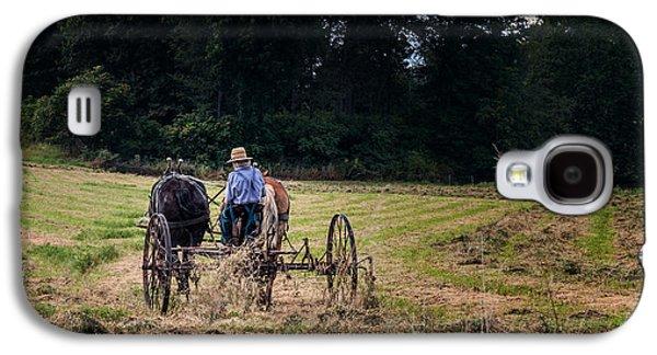 Amish Farming Galaxy S4 Case by Tom Mc Nemar