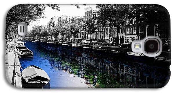 Amsterdam Colorsplash Galaxy S4 Case by Nicklas Gustafsson