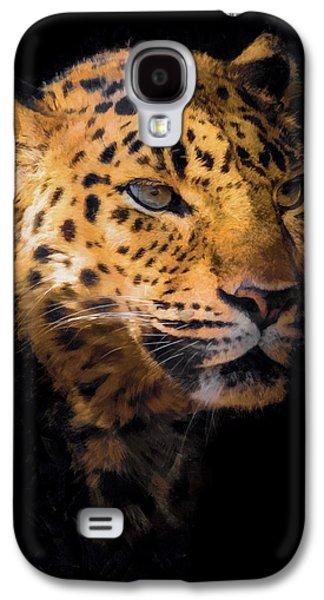 Amur Leopard Portrait 2 Galaxy S4 Case