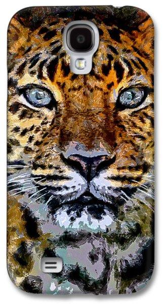 Amur Leopard Stare Galaxy S4 Case