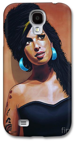 Rhythm And Blues Galaxy S4 Case - Amy Winehouse by Paul Meijering