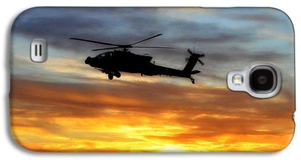 An Ah-64 Apache Galaxy S4 Case by Paul Fearn