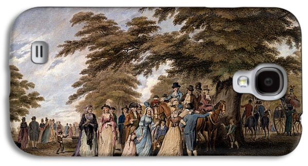 An Airing In Hyde Park, 1796 Galaxy S4 Case by Edward Days