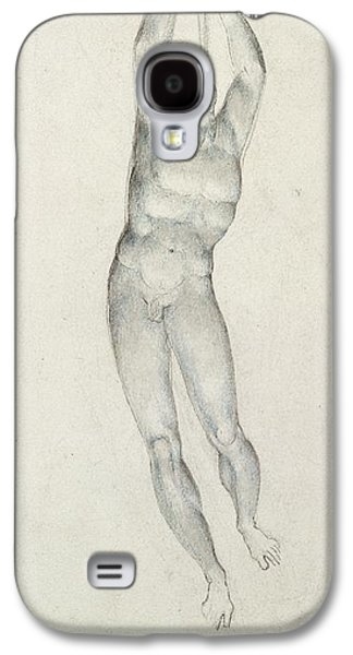 An Angel With A Trumpet Galaxy S4 Case by William Blake