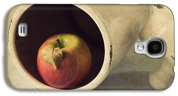 An Apple A Day... Galaxy S4 Case by Amy Weiss