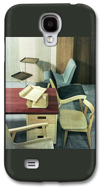An Assortment Of Office Furniture Galaxy S4 Case by Wiliam Grigsby