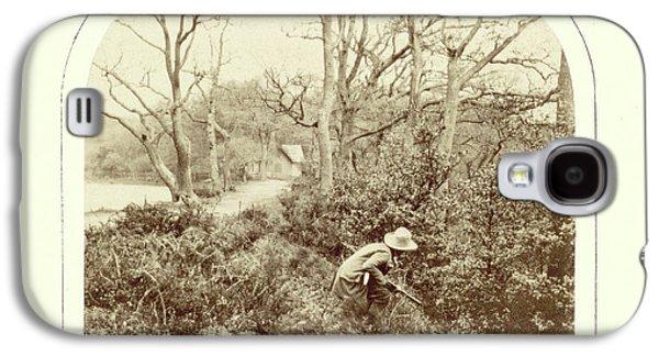 An Autumn Landscape, William Morris Grundy Galaxy S4 Case by Artokoloro