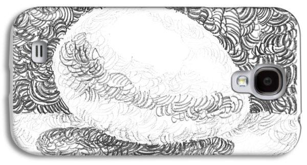 An Egg Study Three Galaxy S4 Case by Irina Sztukowski