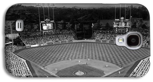 An Evening Game At Dodger Stadium Galaxy S4 Case