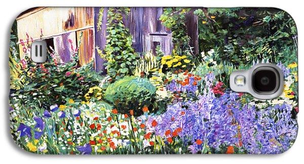 An Impressionist Garden Galaxy S4 Case
