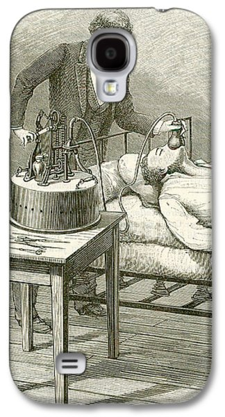 Anaesthetist Administering Chloroform Galaxy S4 Case by Universal History Archive/uig