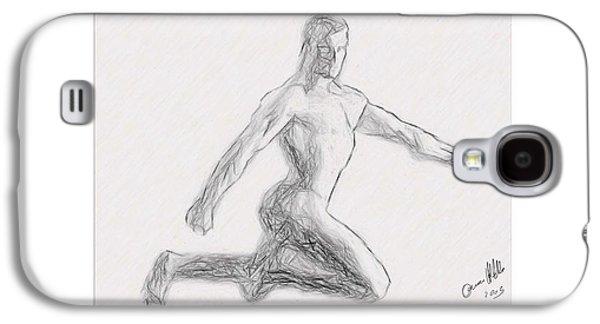 Anatomy Men  Galaxy S4 Case by Joaquin Abella