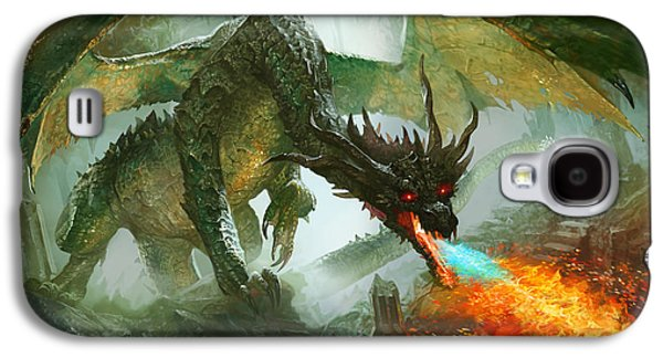 Ancient Dragon Galaxy S4 Case