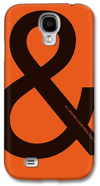 And All Became Clear Poster Galaxy S4 Case by Naxart Studio