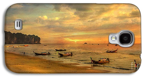 Andaman Sunset Galaxy S4 Case by Adrian Evans