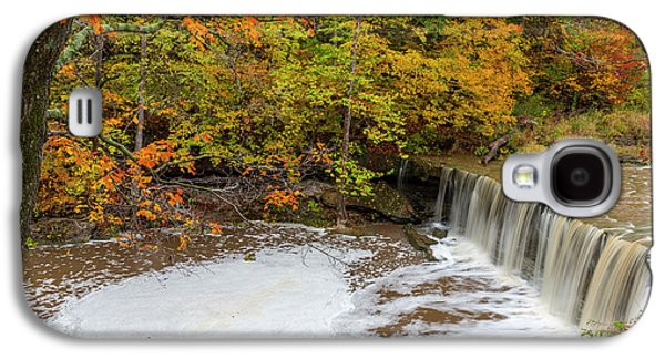 Anderson Falls On Fall Fork Of Clifty Galaxy S4 Case by Chuck Haney