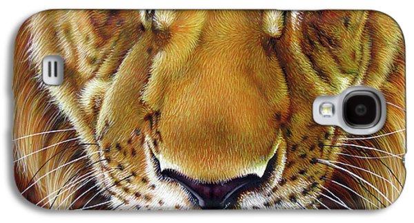 Andre Lion Galaxy S4 Case by Jurek Zamoyski