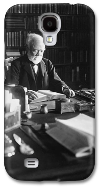 Andrew Carnegie Reading Galaxy S4 Case