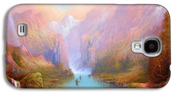 Anduin The Great River Galaxy S4 Case by Joe  Gilronan