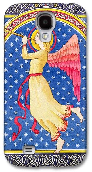 Angel Blowing Trumper Galaxy S4 Case