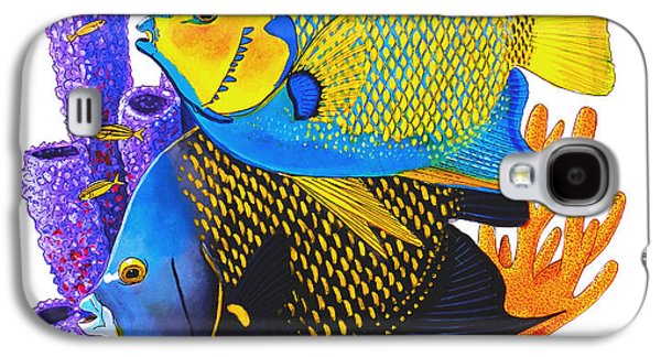 Angel Fish Galaxy S4 Case by Carey Chen