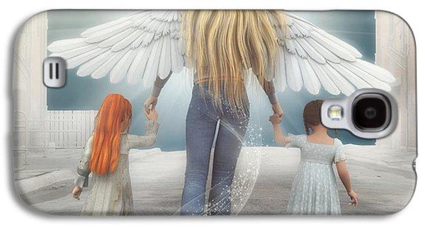 Angel In Blue Jeans Galaxy S4 Case