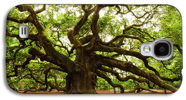 Angel Oak Tree 2009 Galaxy S4 Case by Louis Dallara