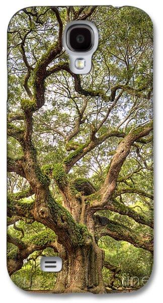 Live Oaks Galaxy S4 Cases - Angel Oak Tree Johns Island SC Galaxy S4 Case by Dustin K Ryan