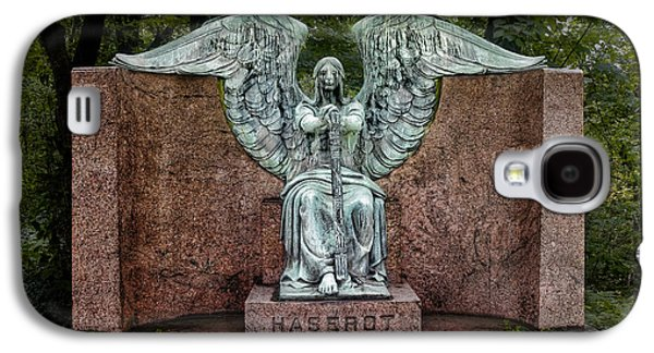 Angel Of Death Lake View Cemetery Galaxy S4 Case by Tom Mc Nemar