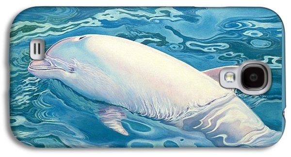Whale Galaxy S4 Case - Angel Of Taiji by Catherine Garneau