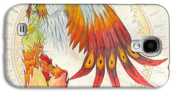 Angel Phoenix Galaxy S4 Case by Shawn Dall