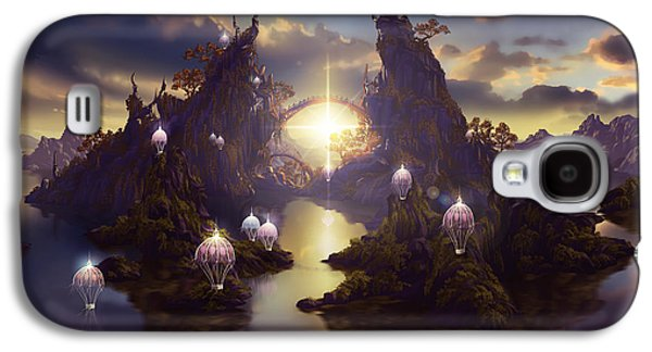 Angels Passage Galaxy S4 Case by Cassiopeia Art