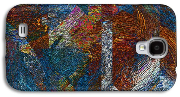 Angles And Curves Abstract Galaxy S4 Case