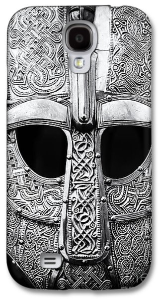 Anglo Saxon Helmet Galaxy S4 Case by Tim Gainey