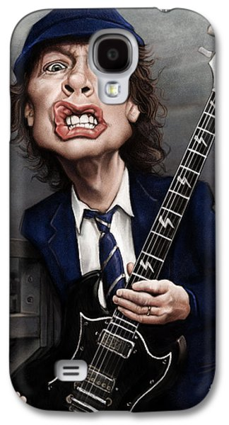 Angus Young Galaxy S4 Case by Andre Koekemoer