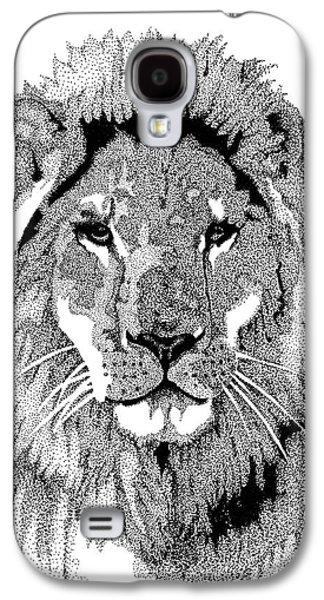Animal Prints - Proud Lion - By Sharon Cummings Galaxy S4 Case by Sharon Cummings