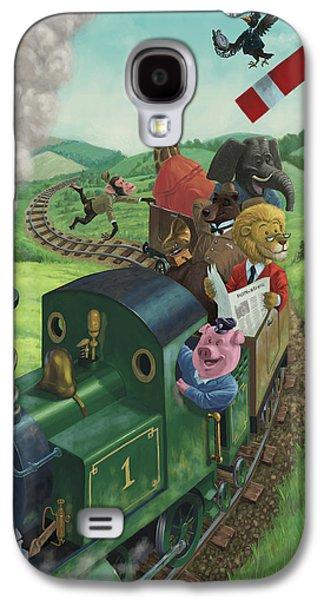 Animal Train Journey Galaxy S4 Case