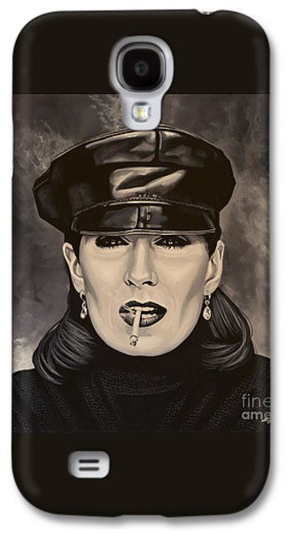 Anjelica Huston Galaxy S4 Case by Paul Meijering