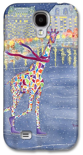 Annabelle On Ice Galaxy S4 Case by Rhonda Leonard