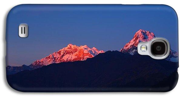 Annapurna South Massif Galaxy S4 Case by FireFlux Studios