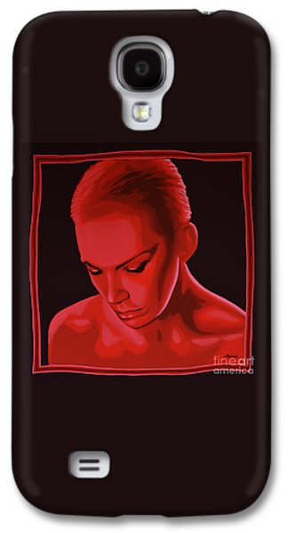 Rhythm And Blues Galaxy S4 Case - Annie Lennox by Paul Meijering
