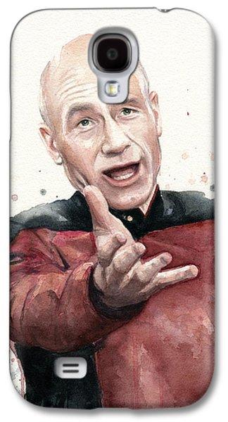 Annoyed Picard Meme Galaxy S4 Case by Olga Shvartsur