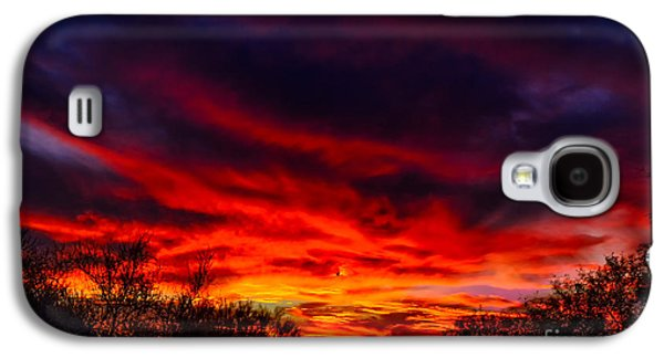 Galaxy S4 Case featuring the photograph Another Tucson Sunset by Mark Myhaver