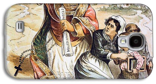 Anti-catholic Cartoon, 1889 Galaxy S4 Case
