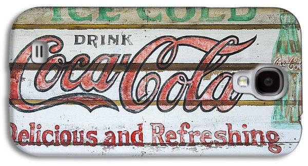 Antique Coca Cola Sign  Galaxy S4 Case