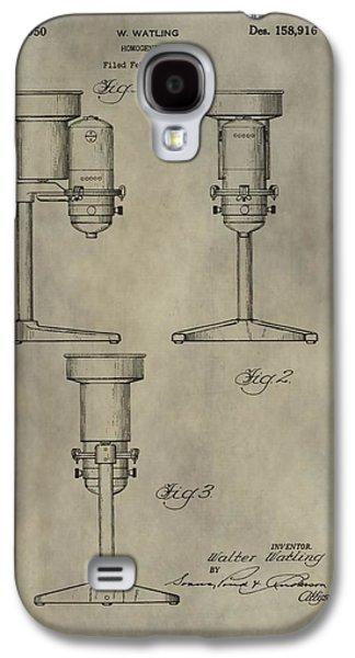 Antique Homogenizer Patent Galaxy S4 Case