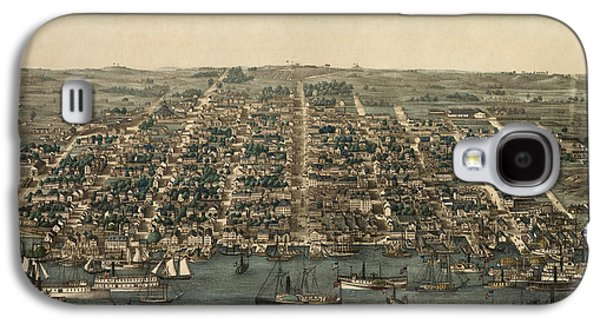 Antique Map Of Alexandria Virginia By Charles Magnus - 1863 Galaxy S4 Case