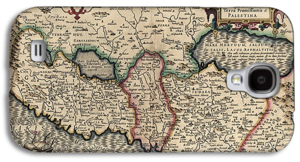 Antique Map Of The Holy Land By Guillaume Delisle - 1782 Galaxy S4 Case