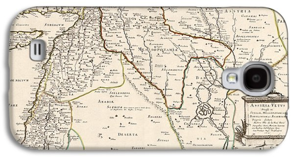 Antique Map Of The Middle East By Philippe De La Rue - 1651 Galaxy S4 Case